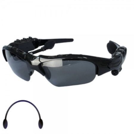 Kabellose Bluetooth 4.0 Kopfhörer integriert in einer Sonnenbrille