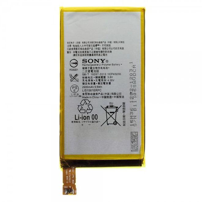 Sony Xperia Z3 Compact OEM Li-Polymer Ersatz Akku 2600mAh