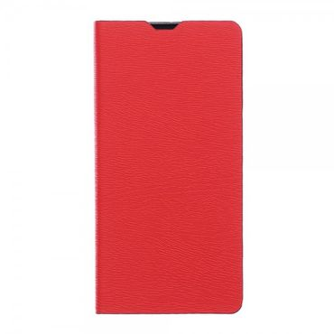 Sony Xperia Z5 Compact Leder Case mit Holzmuster - rot