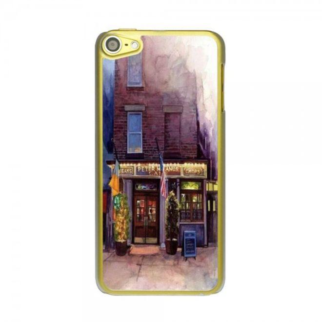 iPod Touch 5/6 Hart Plastik Case mit romantischem Restaurant