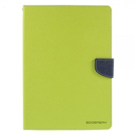 Mercury Goospery - Samsung Galaxy Tab S2 9.7 Hülle - Tablet Bookcover - Fancy Diary Series - lime/navy