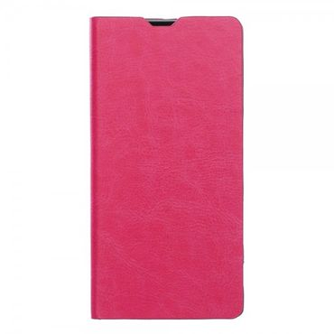 LG G4s/G4 Beat Schickes Crazy Horse Leder Case mit Standfunktion - rosa