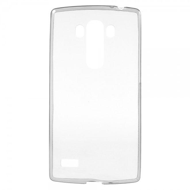 LG G4s/G4 Beat Ultradünnes, elastisches Plastik Case - grau