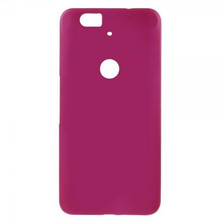 Huawei Nexus 6P Gummiertes Hart Plastik Case - rosa