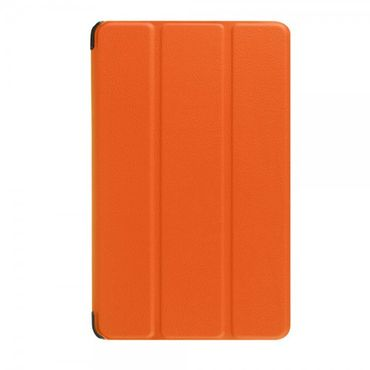 Amazon Fire 7 Dreifach faltbare Leder Case Hülle mit Standfunktion - orange