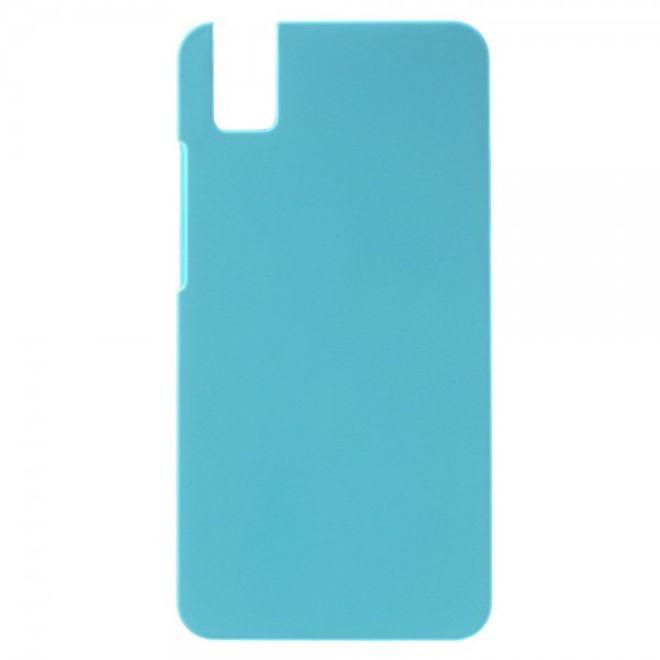 Huawei Honor 7i Gummierte Hart Plastik Hülle - hellblau