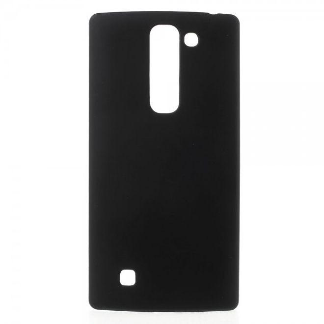 LG Magna/G4c Gummierte Hart Plastik Cover Hülle - schwarz