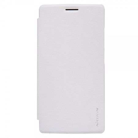 OnePlus 2 Nillkin Sparkle Series Leder Smart Case Hülle - weiss