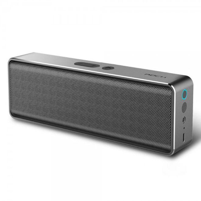 Rock Rock Space - Bluetooth Lautsprecher mit genialem Sound - Mubox Series - grau