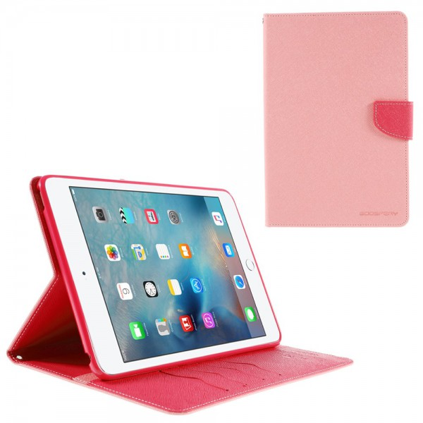 Goospery iPad Mini 4 Mercury Goospery Modisches Leder Case mit Standfunktion - pink