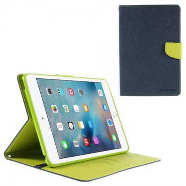 iPad Mini 4 Mercury Goospery Modisches Leder Case mit Standfunktion - blau