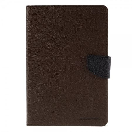 Goospery - iPad Mini 4 Hülle - Tablet Bookcover - Fancy Diary Series - braun/schwarz