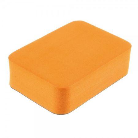 Floaty Schwamm mit VHB Sticker für alle GoPro und Xiaomi Kameras - orange