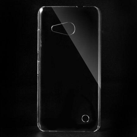 Microsoft Lumia 550 Kristallklares Hart Plastik Handy Cover - transparent