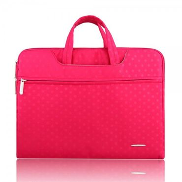 "MacBook Pro 15.4"" Elegante, gepunktete Notebook Laptop Tasche von Ssimoo - rosa"
