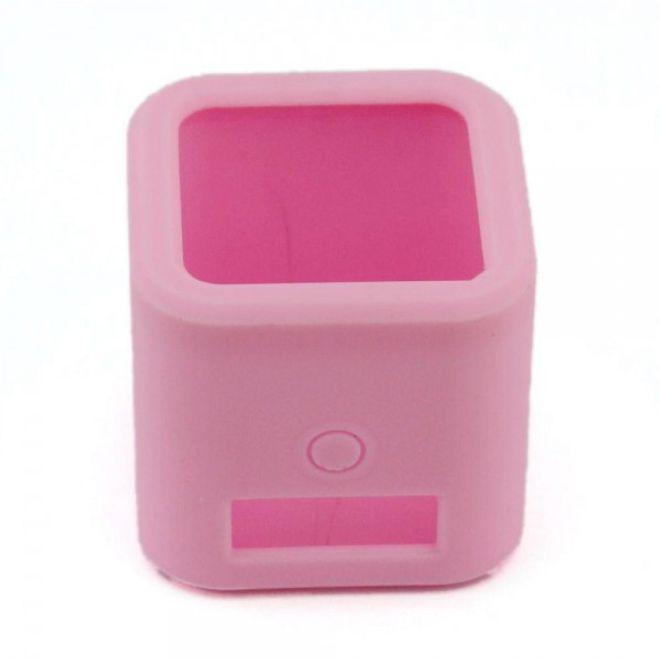 GoPro Hero 4 Session Sanfte Gummi Silikon Case Hülle - pink