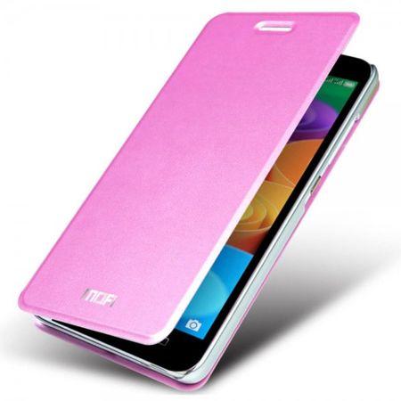 Huawei Honor 4X MOFI Klassische Leder Case Handy Hülle - pink