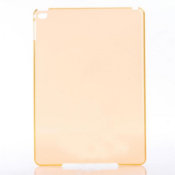 iPad Mini 4 Glänzendes Hart Plastik Case - orange