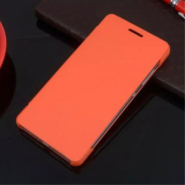 Huawei Honor 7 Schlanke Leder Flip Cover Hülle - orange