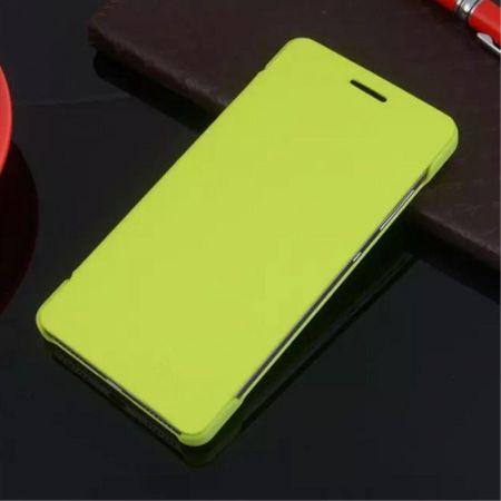 Huawei Honor 7 Schlanke Leder Flip Cover Hülle - grün