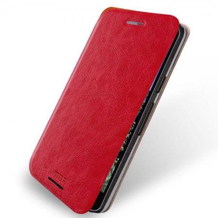 LG Nexus 5X MOFI Rui Series Leder Case Hülle mit Standfunktion - rot