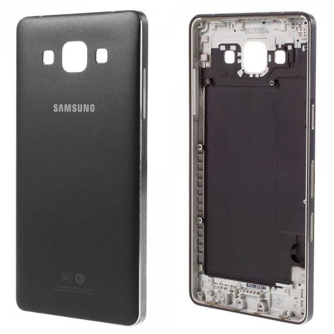 Samsung Galaxy A5 OEM Gehäuseabdeckung , Mittelplatte, Akkufach und Seitentasten - schwarz
