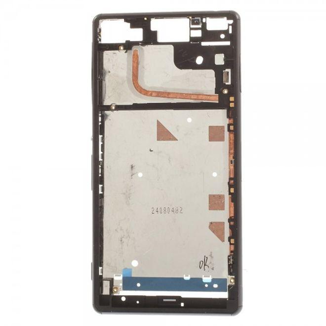 Sony Xperia Z3 OEM Vordergehäuse Ersatzrahmen - silber