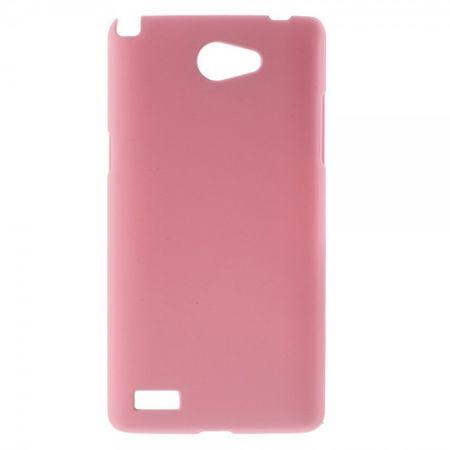 LG Bello 2/Prime 2/Max Gummierte Hart Plastik Cover Hülle - pink