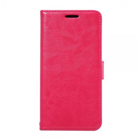 Samsung Galaxy S7 Schicke Leder Case Hülle mit Kreditkartenslots - rosa