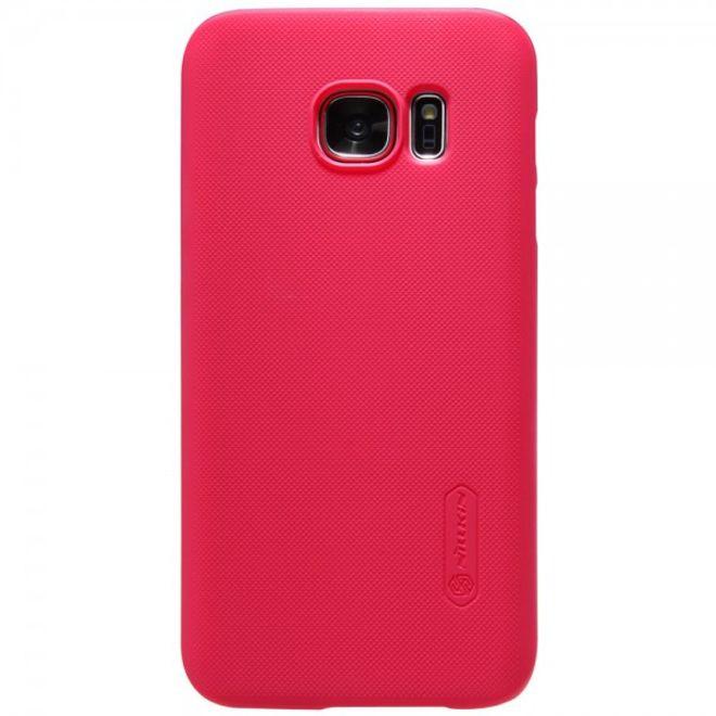 Nillkin Samsung Galaxy S7 Matte Hart Plastik Case Gummihülle von Nillkin - rot