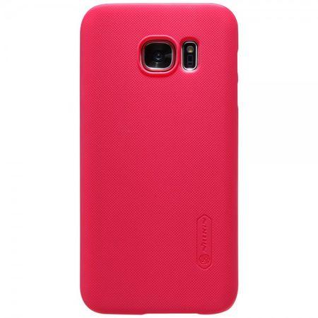 Samsung Galaxy S7 Matte Hart Plastik Case Gummihülle von Nillkin - rot