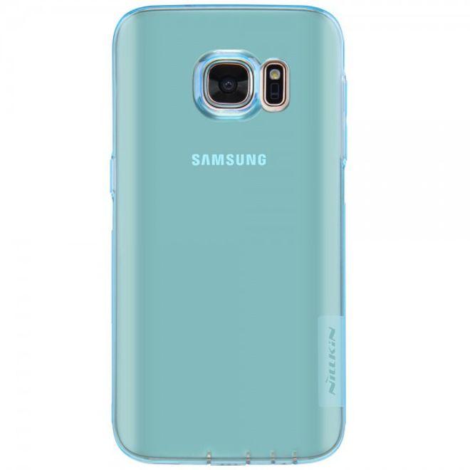 Nillkin Samsung Galaxy S7 Elastische, natürliche Plastik Cover Hülle von Nillkin - blau
