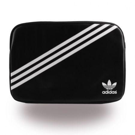 Adidas Basics Beutel für 15 Zoll Tablets - schwarz/weiss