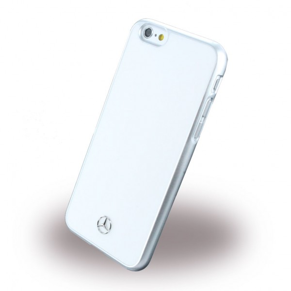 Mercedes-Benz iPhone 6/6S Mercedes Benz Dynamic Metallene Hart Case Hülle - weiss