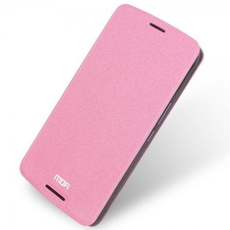 HTC One X9 Mofi Rui Series Leder Case Hülle mit Standfunktion - pink