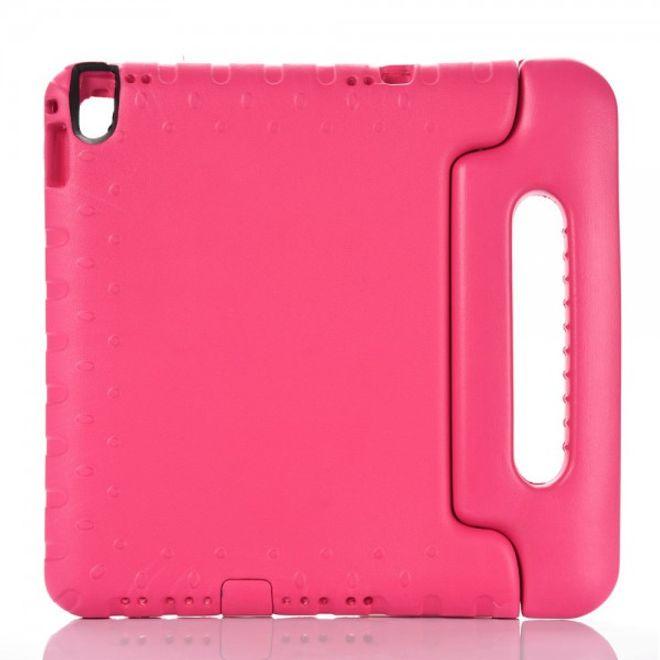iPad Pro 9.7 Schockresistente EVA Plastik Case Hülle für Kinder mit Griffhalterung - rosa
