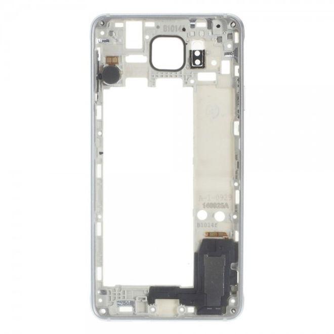 Samsung Galaxy Alpha OEM Mittelplatte Ersatzrahmen - silber