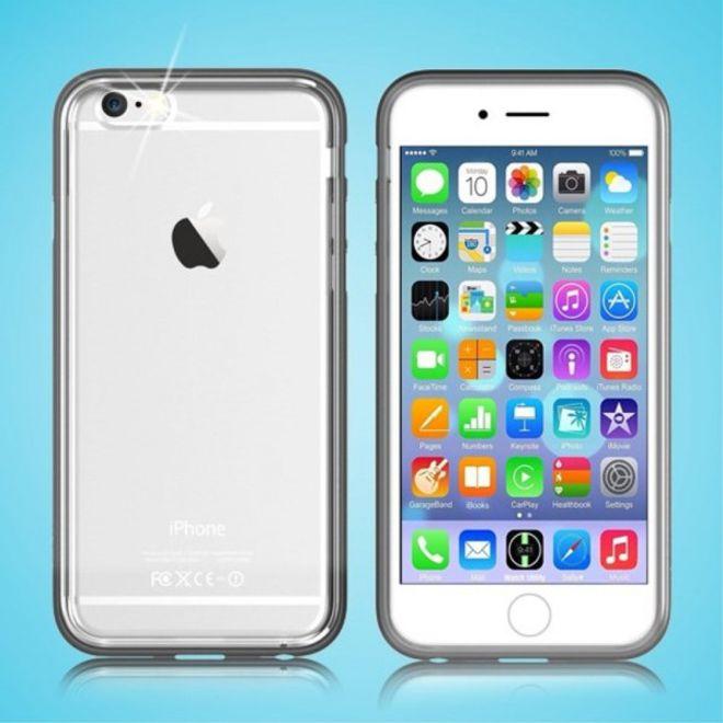 Devia iPhone 6/6S Devia Flying Shell Series Combo Plastik Case Hülle - schwarz