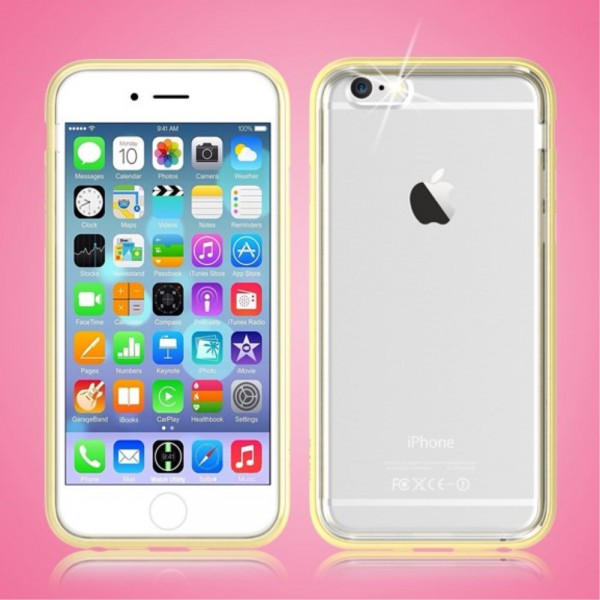 Devia iPhone 6/6S Devia Flying Shell Series Combo Plastik Case Hülle - gold
