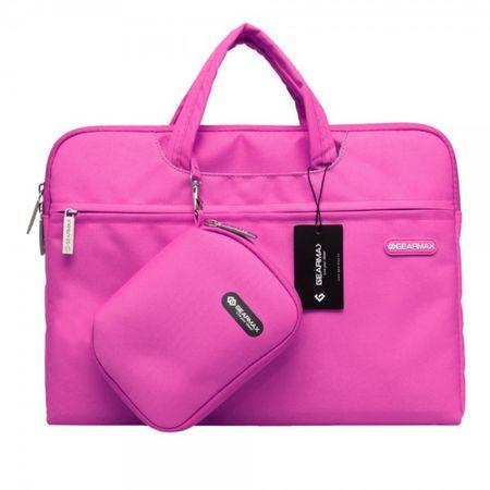 MacBook Pro 15.4 Modische Tasche und kleine Handtasche von Gearmax - rosa