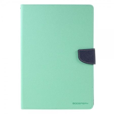 Goospery - iPad Pro 9.7 Hülle - Tablet Bookcover - Fancy Diary Series - mint/navy