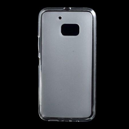 HTC 10 Elastische, matte Plastik Case Hülle - transparent