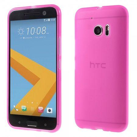 HTC 10 Elastische Plastik Case Handyhülle - rosa