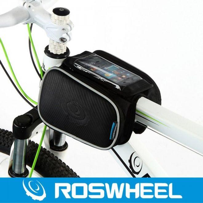 """Roswheel Roswheel Faltbare Fahrrad Tasche für Smartphones bis 5"""" Zoll - schwarz"""