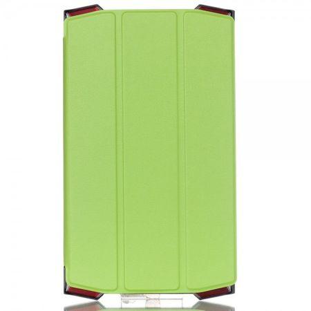 Acer Predator Dreifach faltbare Leder Smart Case Hülle mit Standfunktion - grün