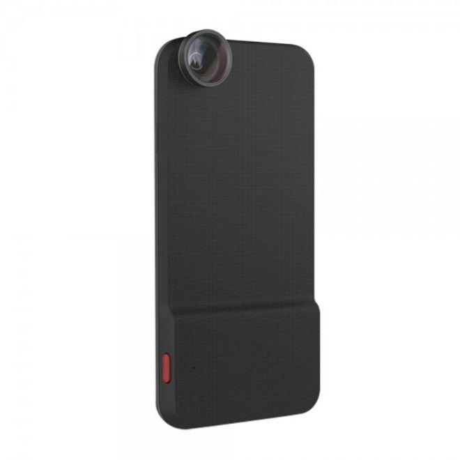 Rock iPhone 6 Plus/6S Plus Rock Easy Shot Series Plastik Case Hülle mit integriertem Bluetooth Kamera Auslöser und Linse