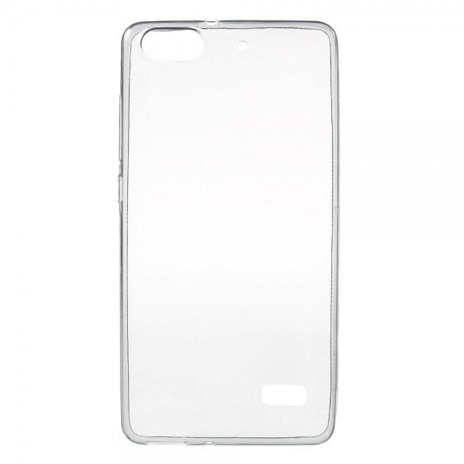 Huawei Honor 4C Ultraschlanke, elastische Plastik Case Hülle (0.6mm dick) - grau
