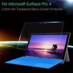 Microsoft Surface Pro 4 Schutzfolie aus gehärtetem Glas (0.3mm dick)