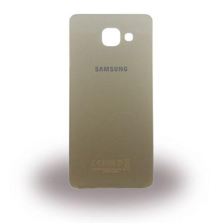 Samsung Galaxy A5 (2016 Edition) Original Akkudeckel Backcover Ersatzteil (GH82-11020A) - gold