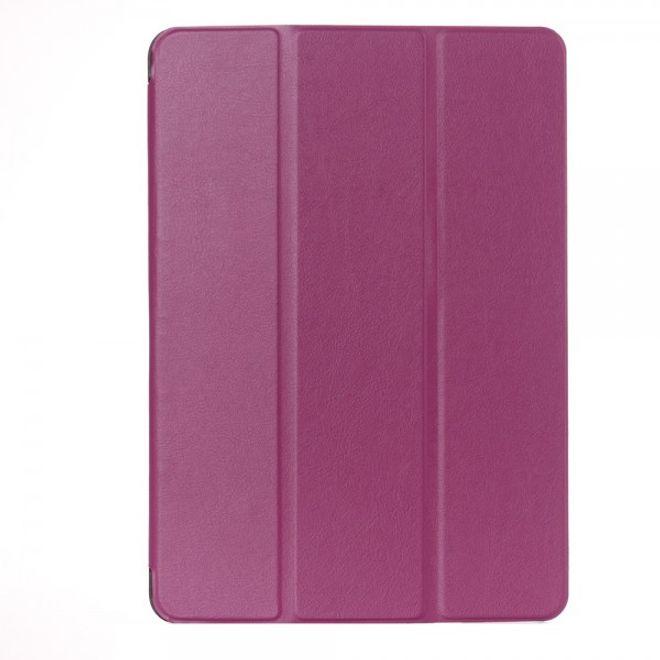 Asus ZenPad 10 Dreifach faltbare Leder Smart Case Hülle - purpur